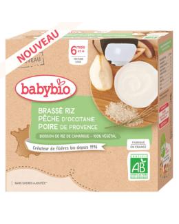 Brassé Végétal base Riz - Pêche d'Occitanie Poire de Provence