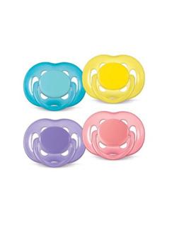 Sucette aérée silicone 6-18 mois sans BPA