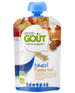Good gourde Brassé pomme et miel