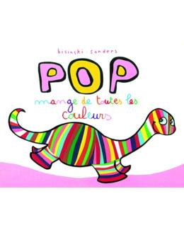 Livre Pop mange de toutes les couleurs