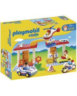 Playmobil 1.2.3 - Coffret Hôpital + secouristes