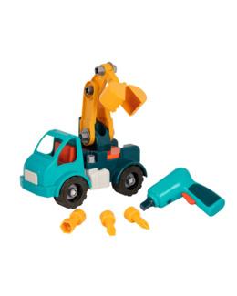 Camion grue à construire