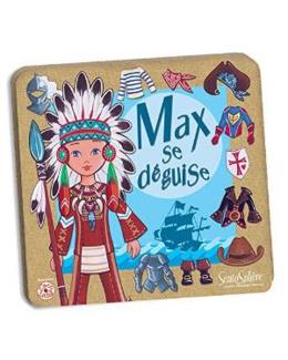 Figurine magnétique - Max se déguise