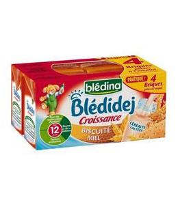 Blédidej Croissance Biscuité miel dès 12 mois