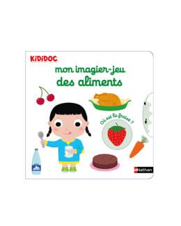 Livre Mon imagier Jeu des aliments - Kididoc