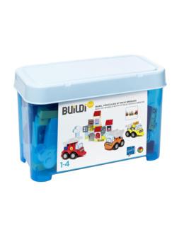 Baril Maxi briques et véhicules buildibul