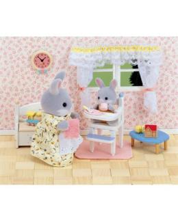 Chaise haute Mini poupées