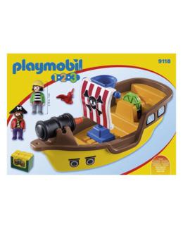 Playmobil 1.2.3 - Bâteau de pirates