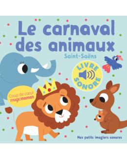 Livre sonore Le carnaval des animaux