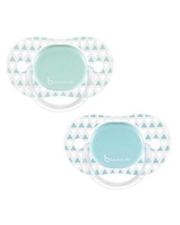Sucettes en silicone réversibles 0-6 mois