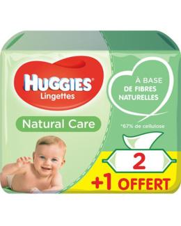 Lingettes Natural Care
