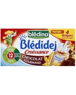 Blédidej Croissance Chocolat gourmand dès 12 mois