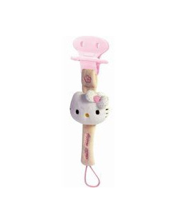 Accroche tétine Hello Kitty