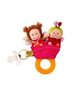 Hochet de dentition / Marionnettes à doigts Liz