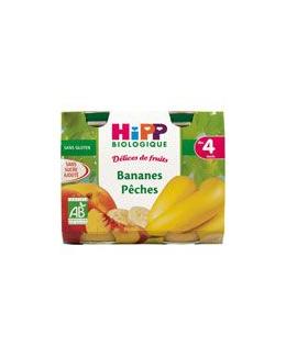 Délices de fruits Bananes pêches 190 g dès 4 mois