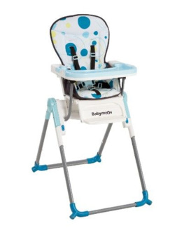Chaise haute compacte Slim
