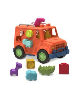 Camion jeep boite à formes Safari