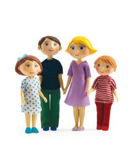Figurines Famille - Gaspard et Romy