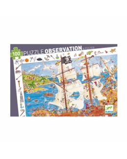 Puzzle observation Pirates 100 pièces