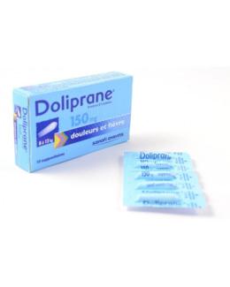 Doliprane (Paracetamol) 150 mg Enfants - Suppositoires