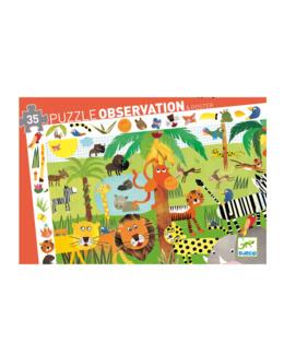 Puzzle observation La jungle 35 pièces