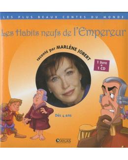 les habits neufs de l'Empereur  Jobert, Marlène, LIVRE + CD AUDIO