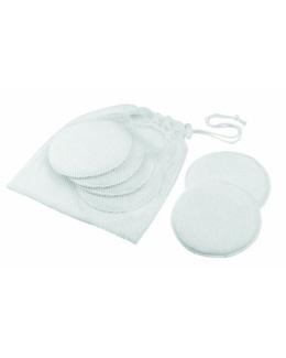 6 coussinets d'allaitement lavables