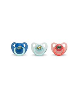 Arty Baby - Sucette silicone physio 0/6 mois
