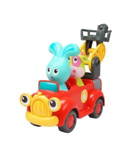 Jojo et son camion de pompier