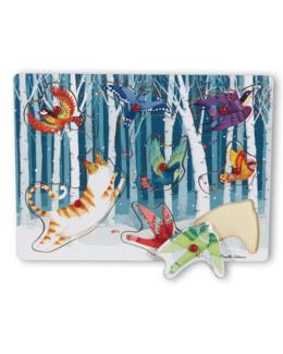 Puzzle bois Oiseaux