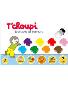 T'choupi joue avec les couleurs