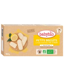 Petits Biscuits à l'huile essentielle de Citron