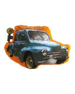 Coussin motif voiture chambre garcon theme autos