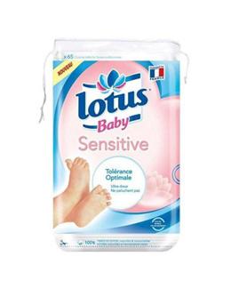 Lotus baby sensitive carrés coton