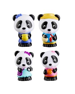 Lot de 4 figurines pandas - Klorofil