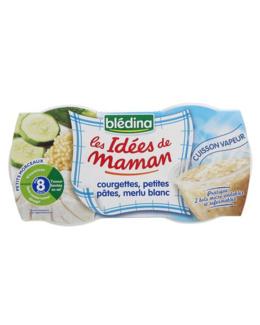 LES IDEES DE MAMAN Courgettes pâtes merlu