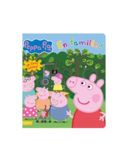Livre Peppa pig En famille !