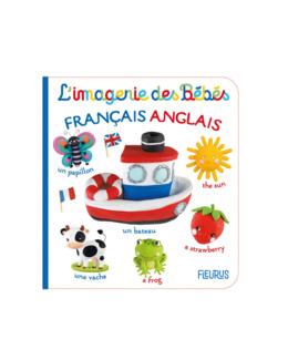 Livre Imagier français anglais