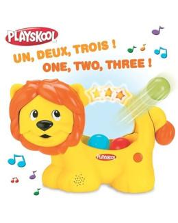 Bébé Lion à Balles Multilingue