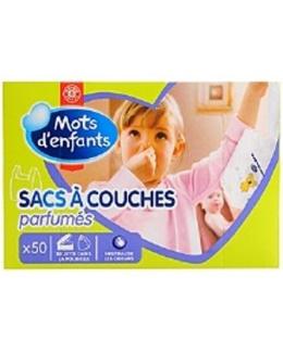 Sacs à couches parfumés (x50)
