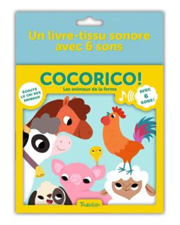 Livre Cocorico ! Les animaux de la ferme