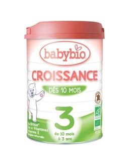 Lait Babybio Croissance