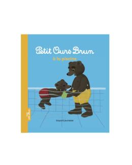 Livre Petit ours brun à la  piscine
