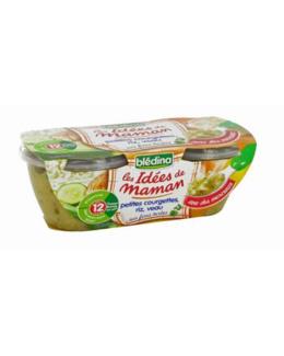 LES IDEES DE MAMAN - Plat petites courgettes riz et veau