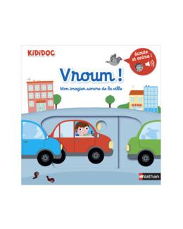Livre Vroum ! Imagier sonore de la ville kididoc