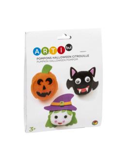 Kit de création Halloween citrouille