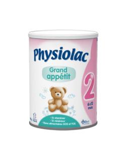 Lait Physiolac Grand Appétit 2