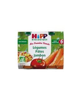 Légumes pâtes jambon 190g dès 6 mois