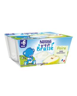 P'tit Brassé Poire (4x100g)