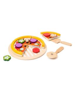 Pizza en bois à partager